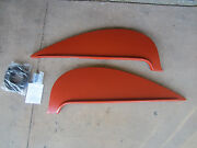 1956 Chevy 150 210 And Belair Metal Fender Skirts New