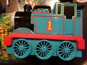Thomas The Tank Engine Carrying Case Take Along Holds 17 Diecast Toy Trains