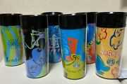 Starbucks Japan 1998-2000 6cities Old Tumbler Very Rare Made In Usa