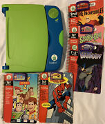 Leap Pad Leap Frog Learning System 5 Books 1st-2nd Grader Books