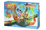 New Hot Wheels Roto Revolution Track Set With Motorized Loops Rotate