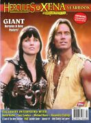 Xena And Hercules Cover - Official Yearbook Collector Edition - Giant Posters
