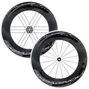 New Campagnolo Bullet Ultra 105 Road / Clincher Wheelset / S11 Dark Labels