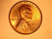 1948-s Lincoln Wheat Penny In Gem Bu Condition
