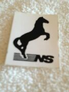 Ns Norfolk Southern Railroad - Magnet And Decal / Sticker - 1 1/2 X 2