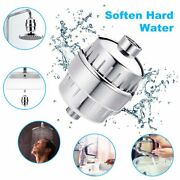 4x 15stage Replacement Shower Filter Cartridge For Chlorine Hard Water Softener