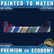 New Painted To Match - Rear Upper Bumper For 2011-2014 Ford Edge W/ Park Assist