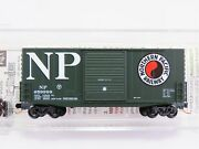 N Scale Micro-trains Mtl 10100010 Np Northern Pacific 40' Hy-cube Box Car 659999