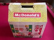 1960's, Mcdonald's, Large Take Out Box Doll House Scarce / Vintage