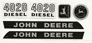 Decal Set 4020 Industrial Yellow, Wide Front John Deere Toy Pedal Tractor Jp117