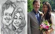 Pencil Caricature Portrait From Your Photo Or Your Pet