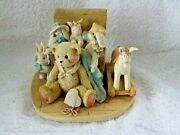 1991 Cherished Teddies Christopher Old Friends Are The Best Friends Figurine