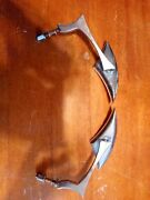 Motorcycle Blade Steady Mirrors For Harley Davidson Came Off A And03902 Softail.