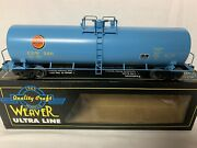 ✅weaver Chicago Great Western 50andrsquo Tank Car W/ Lionel Type Trucks New O Scale Cgw