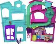 Littlest Pet Shop Pet Shop Playset With Penny Russell And Pepper