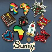 New Embroidered Iron On/ Sew On Patch Lot Craft Diy Badge Bag Fabric 34 Combo