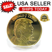 Trump President Coin Keep America Great Commemorative Challenge Coins