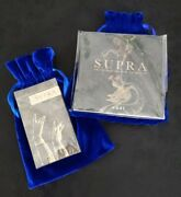 Uusi Supra Oracle Book And Deck Set First Edition 4654/5000 Blue Velvet Bags