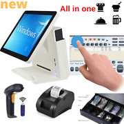 Full Kit Brand New Pos Allinone System Touch Screen Restaurant Retail Pizza