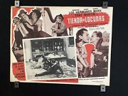 1941 Groucho Chico Harpo Marx T.martin At The Store Mexican Lobby Card 16x12