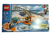 Lego City 7738 Coast Guard Helicopter And Life Raft New Sealed
