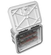 Innovative Product Solutions 11 X 15 Arctic White Boat Tackle Center 530-103