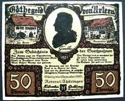 Beautiful 1921 Goethe Money W Pictures Of His Life Complete Unc Set Of 6 @1.99