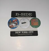 Too Short Buttons - Set Of 3 - 1.25 - Albums Bay Area Hyphy E40 Mac Dre Oakland
