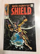 Nick Fury, Agent Of Shield 6 Vf/nm White Pages 1968 Classic Steranko Cover