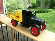 Vintage Buddy L No. 203b Deluxe S Series Baggage Line Delivery Truck