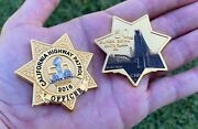 Super Bowl 50 Nfl California Hwy Patrol Chp Police Challenge Coin Manning Elway