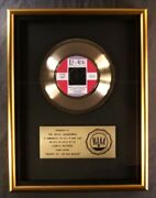 Royal Guardsmen Snoopy Vs. The Red Baron 45 Gold Riaa Record Award Laurie