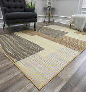 Rugs America Belfort Abstract Contemporary Rug Berber/venice Red All Sizes
