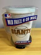 New Mlb San Francisco Giants Freeze -n- Go Mug With Straw And Spillproof Lid.