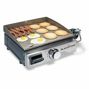 Blackstone Table Top Grill - 17 Inch Portable Gas Griddle - Propane Fueled