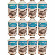 Pack Of 12 Chemours Dupont R134a Refrigerant 134a Freon A/c 12oz Can Auto Car
