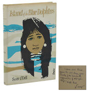 Signed Island Of The Blue Dolphins Scott Oand039dell First Edition 1st Print 1960
