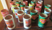 Lot Of 20 Vintage Pretend Play Food Grocery Cans No Lids Del Monte Campbell's +