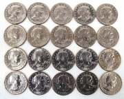 Original 40-year Old Roll Of 1980-s Sba Dollars Proof - 20 Coins Uncirculated