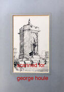 Ernest H. Shepard - Drawing - Signed - Tom Brownand039s School Days - Pooh - Punch