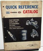 1965 Ford Quick Reference Parts Catalog Mustang Falcon Fairlane Galaxie Pick-up