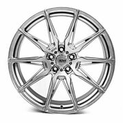 20 Adv1 Adv5.0 Silver 20x9 Forged Concave Wheels Rims Fits Acura Tsx