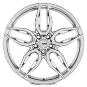 20 Adv1 Adv005 Silver 20x9 20x9 Forged Concave Wheels Rims Fits Toyota Camry