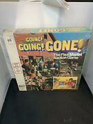 New 1975 Going Going Gone Flea Market Auction Game Milton Bradley Sealed 1-a