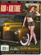 Traditional Rod And Kulture Illustrated 39 Fall 2014-hot Rods-pin-up Girls-vin...