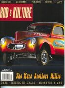 Traditional Rod And Kulture Illustrated 41 Spring 2015-hot Rods-pin-up Girls-c...