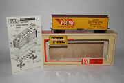 Train Miniature Tmi Ho Scale Prima Beer Reefer Car, Excellent, Boxed