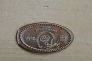 San Francisco 49ers Elongated Penny Pressed Flattened Coin Nfl Football