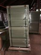 3' Open Face Metal Lab Overhead Cabinets With Shelves