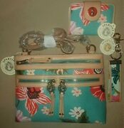 Spartina 449 Free Id Case Broughton Hipster, Yacht Club Wallet And Keychain